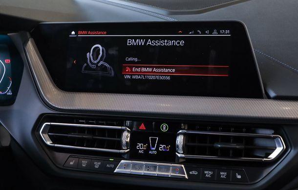 BMW a prezentat noul Seria 1 în România: interfață iDrive disponibilă în limba română și informații despre trafic în timp real. Preț de pornire de 27.600 de euro - Poza 33