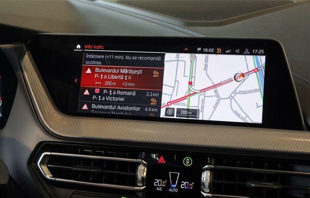 BMW a prezentat noul Seria 1 în România: interfață iDrive disponibilă în limba română și informații despre trafic în timp real. Preț de pornire de 27.600 de euro - Poza 27