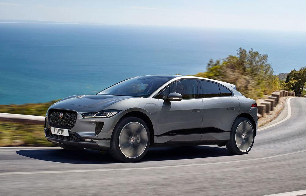 SUV-ul electric I-Pace a atins o cotă de 10% din vânzările Jaguar în 2019: peste 12.000 de unități comercializate în acest an - Poza 1