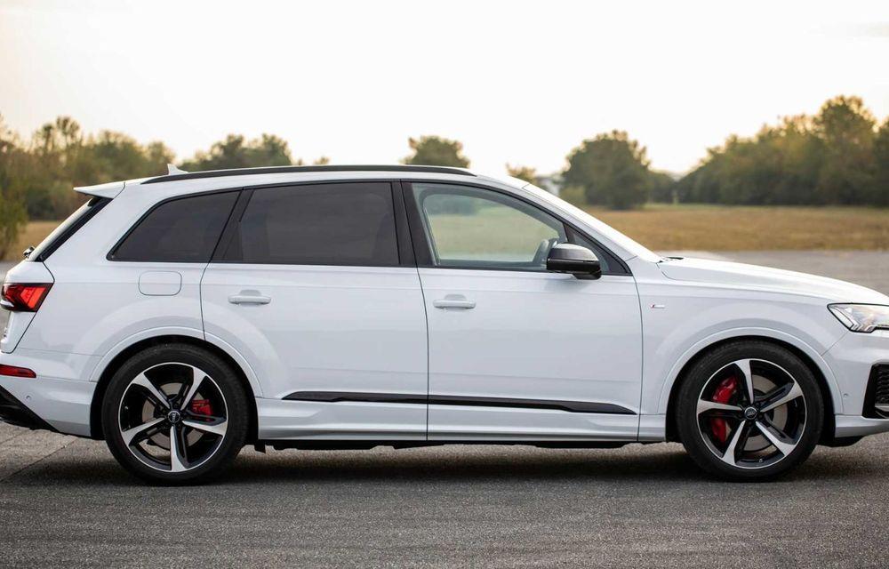 Versiune plug-in hybrid pentru Audi Q7: 449 CP și  autonomie electrică de până la 40 de kilometri - Poza 4