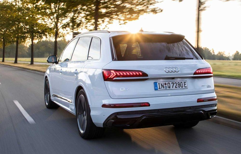 Versiune plug-in hybrid pentru Audi Q7: 449 CP și  autonomie electrică de până la 40 de kilometri - Poza 9