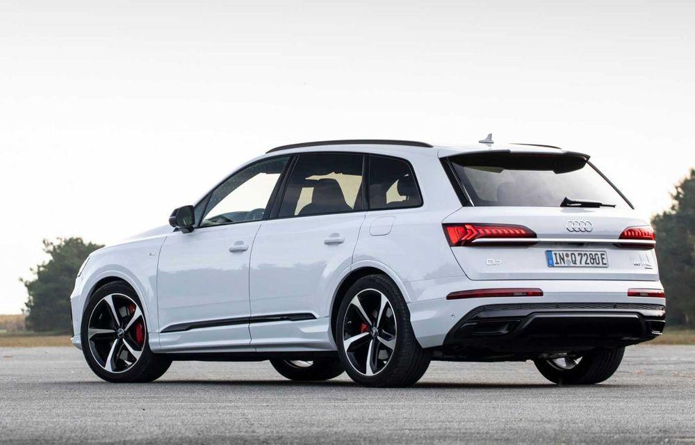 Versiune plug-in hybrid pentru Audi Q7: 449 CP și  autonomie electrică de până la 40 de kilometri - Poza 7
