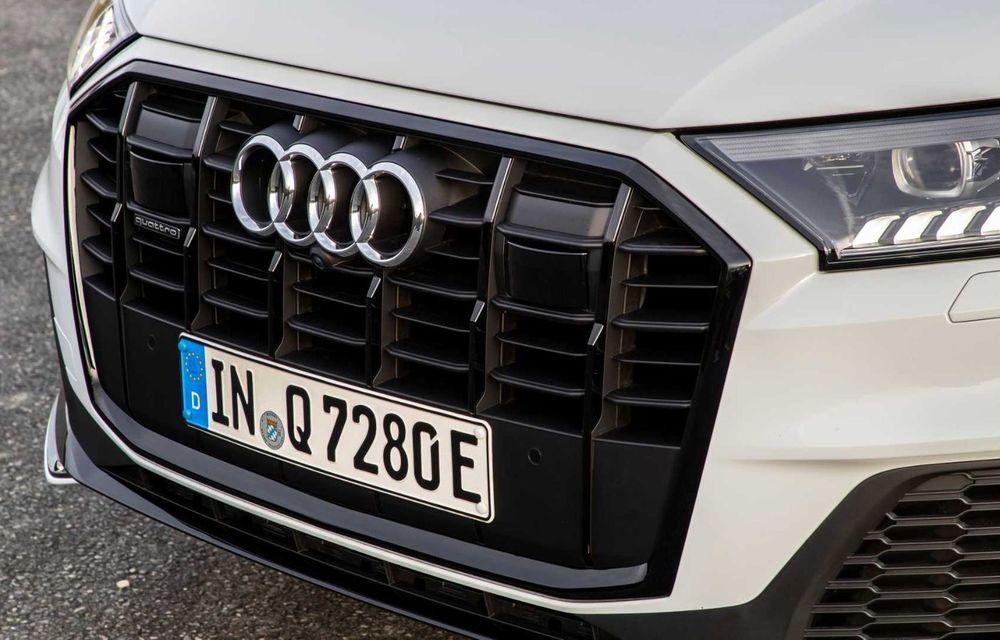 Versiune plug-in hybrid pentru Audi Q7: 449 CP și  autonomie electrică de până la 40 de kilometri - Poza 11