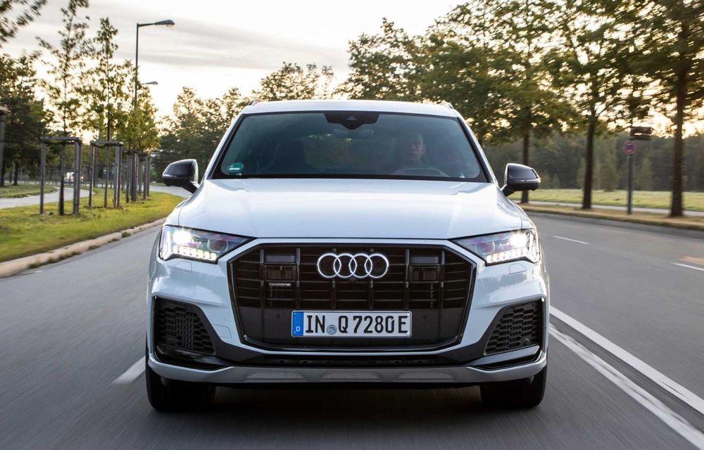 Versiune plug-in hybrid pentru Audi Q7: 449 CP și  autonomie electrică de până la 40 de kilometri - Poza 3
