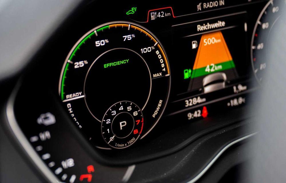 Versiune plug-in hybrid pentru Audi Q7: 449 CP și  autonomie electrică de până la 40 de kilometri - Poza 15