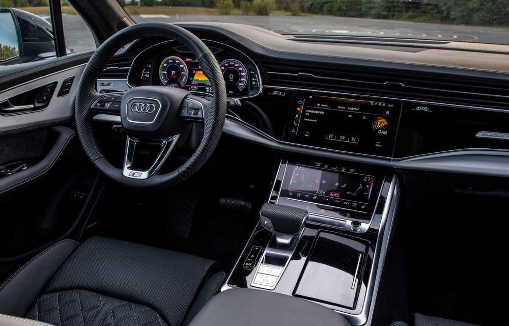 Versiune plug-in hybrid pentru Audi Q7: 449 CP și  autonomie electrică de până la 40 de kilometri - Poza 14