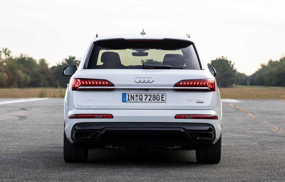 Versiune plug-in hybrid pentru Audi Q7: 449 CP și  autonomie electrică de până la 40 de kilometri - Poza 8