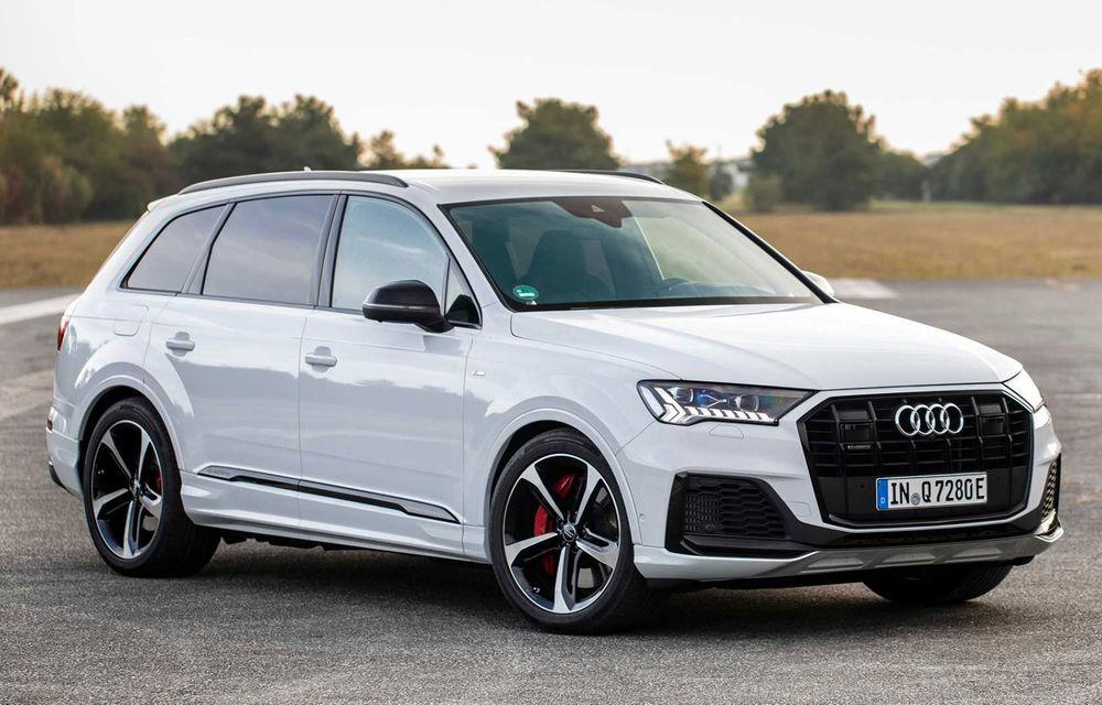 Versiune plug-in hybrid pentru Audi Q7: 449 CP și  autonomie electrică de până la 40 de kilometri - Poza 1