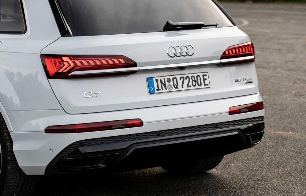 Versiune plug-in hybrid pentru Audi Q7: 449 CP și  autonomie electrică de până la 40 de kilometri - Poza 12