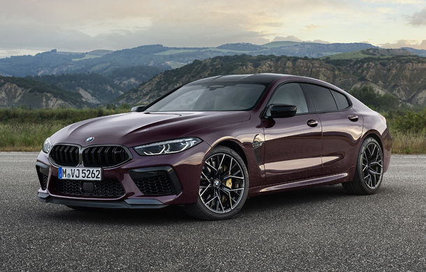 Primele imagini și detalii despre BMW M8 Gran Coupe: tracțiune integrală și motor de 4.4 litri și 625 de cai putere pentru versiunea Competition - Poza 1