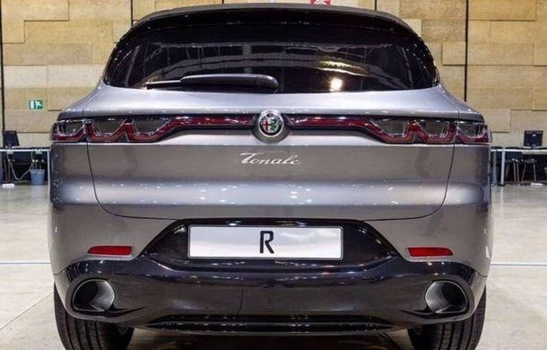 """Primele fotografii cu viitorul Alfa Romeo Tonale au """"scăpat"""" pe internet: SUV-ul debutează în 2020 și va primi și versiune plug-in hybrid - Poza 3"""