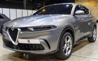 """Primele fotografii cu viitorul Alfa Romeo Tonale au """"scăpat"""" pe internet: SUV-ul debutează în 2020 și va primi și versiune plug-in hybrid"""