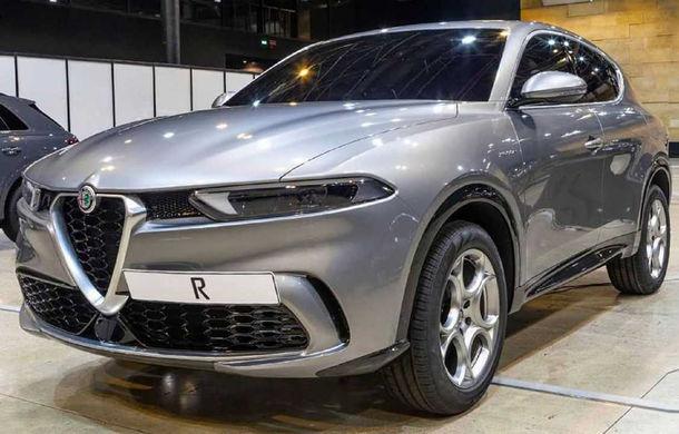 """Primele fotografii cu viitorul Alfa Romeo Tonale au """"scăpat"""" pe internet: SUV-ul debutează în 2020 și va primi și versiune plug-in hybrid - Poza 1"""