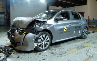 Teste Euro NCAP: 4 stele pentru Peugeot 208 și Jeep Cherokee și 5 stele pentru BMW Seria 1. Seria 3, cel mai bun rezultat pentru un model de familie