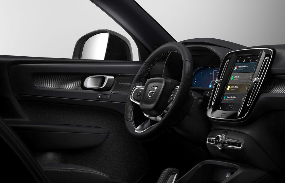 """Versiunea electrică a lui Volvo XC40 va deveni primul model cu sistem de operare Android Automotive OS: """"Vom oferi aceeași experiență ca pe telefon"""" - Poza 2"""