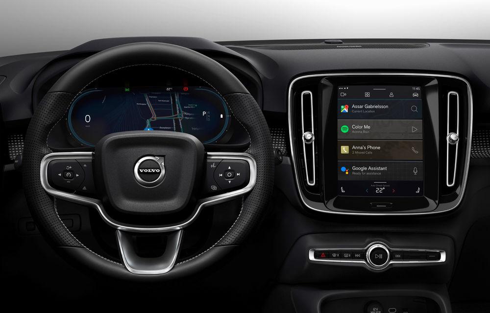 """Versiunea electrică a lui Volvo XC40 va deveni primul model cu sistem de operare Android Automotive OS: """"Vom oferi aceeași experiență ca pe telefon"""" - Poza 1"""