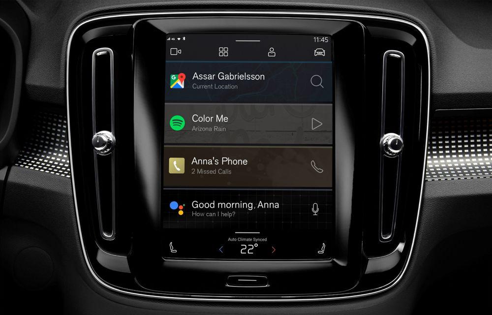 """Versiunea electrică a lui Volvo XC40 va deveni primul model cu sistem de operare Android Automotive OS: """"Vom oferi aceeași experiență ca pe telefon"""" - Poza 3"""