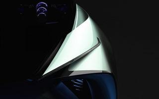Primul teaser cu conceptul electric pregătit de Lexus: prezentarea oficială va avea loc în 23 octombrie
