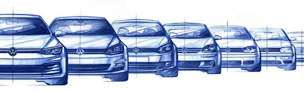 Schițe oficiale cu noul VW Golf: premieră mondială în 24 octombrie, la Wolfsburg - Poza 3