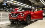 Nissan a început producția noului Juke la uzina din Sunderland: vânzările vor debuta în noiembrie pe unele piețe europene