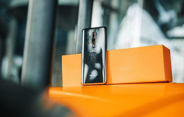 McLaren continuă parteneriatul cu producătorul de telefoane OnePlus: noul 7T Pro McLaren Edition costă 900 de euro - Poza 3