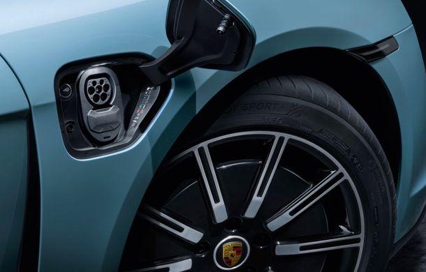 Imagini și detalii referitoare la noua versiune Porsche Taycan 4S: două variante de baterii și autonomie de până la 463 de kilometri - Poza 11