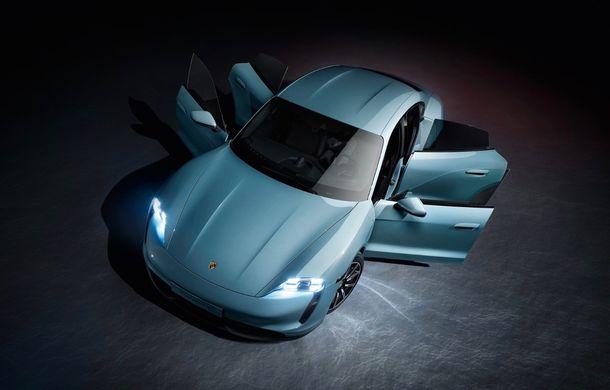 Imagini și detalii referitoare la noua versiune Porsche Taycan 4S: două variante de baterii și autonomie de până la 463 de kilometri - Poza 6