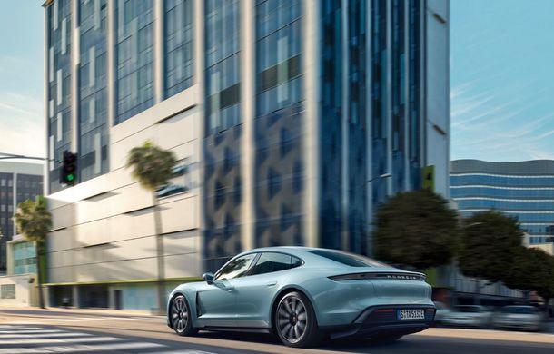 Imagini și detalii referitoare la noua versiune Porsche Taycan 4S: două variante de baterii și autonomie de până la 463 de kilometri - Poza 5