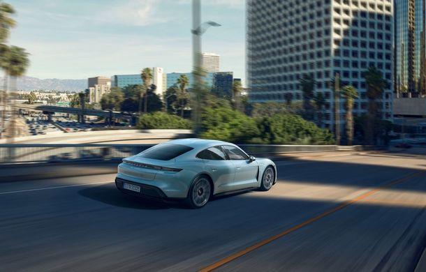 Imagini și detalii referitoare la noua versiune Porsche Taycan 4S: două variante de baterii și autonomie de până la 463 de kilometri - Poza 4