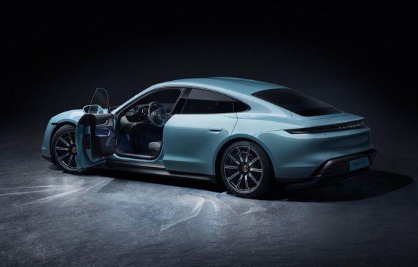 Imagini și detalii referitoare la noua versiune Porsche Taycan 4S: două variante de baterii și autonomie de până la 463 de kilometri - Poza 8