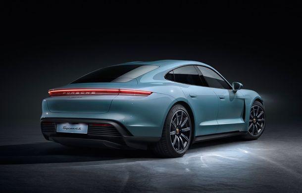 Imagini și detalii referitoare la noua versiune Porsche Taycan 4S: două variante de baterii și autonomie de până la 463 de kilometri - Poza 7