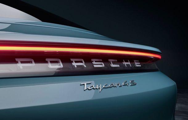 Imagini și detalii referitoare la noua versiune Porsche Taycan 4S: două variante de baterii și autonomie de până la 463 de kilometri - Poza 10