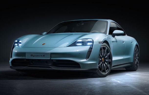 Imagini și detalii referitoare la noua versiune Porsche Taycan 4S: două variante de baterii și autonomie de până la 463 de kilometri - Poza 1