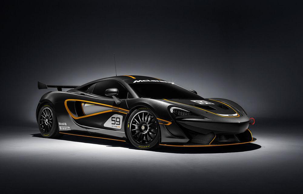 Primele informații despre McLaren 620R: elemente aerodinamice noi și accesorii împrumutate de pe versiunea de circuit 570S GT4 - Poza 1