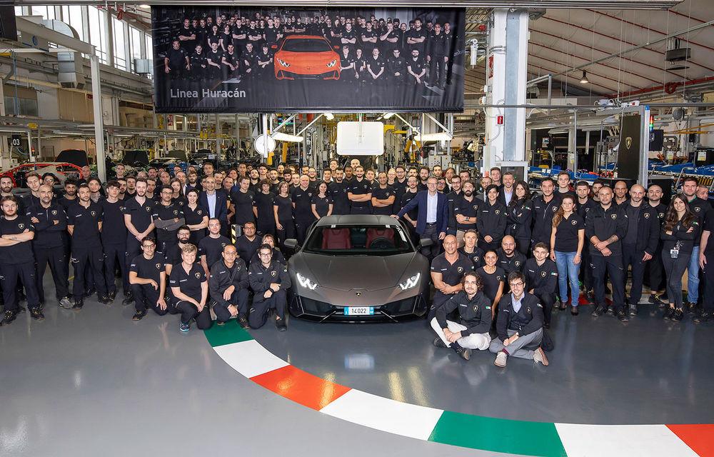 14.022 de exemplare Lamborghini Huracan produse în doar 5 ani: supercar-ul egalează performanța obținută de Gallardo în 10 ani de producție - Poza 1