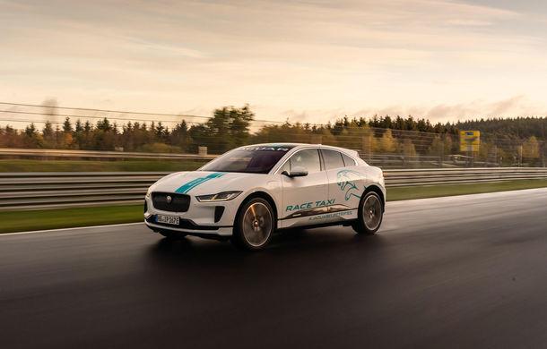 """Jaguar I-Pace, primul model electric """"transformat"""" în Ring Taxi: SUV-ul britanic este gata să-ți ofere senzații unice pe Nurburgring - Poza 1"""