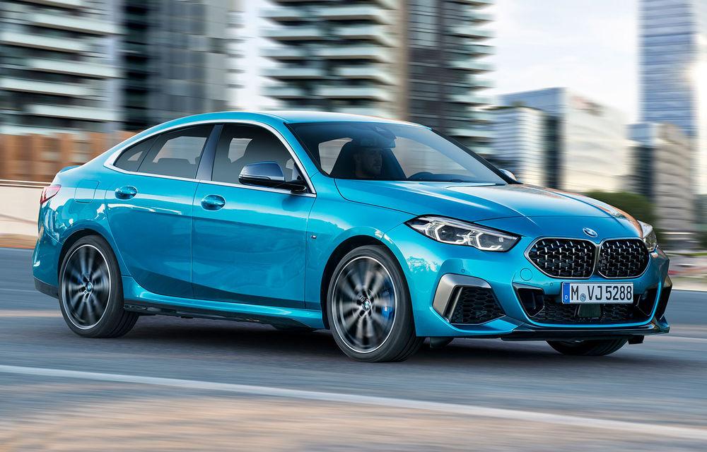 BMW a prezentat Seria 2 Gran Coupe: rivalul lui Mercedes-Benz CLA propune tehnologii moderne de interior și versiune de top cu 306 CP - Poza 1
