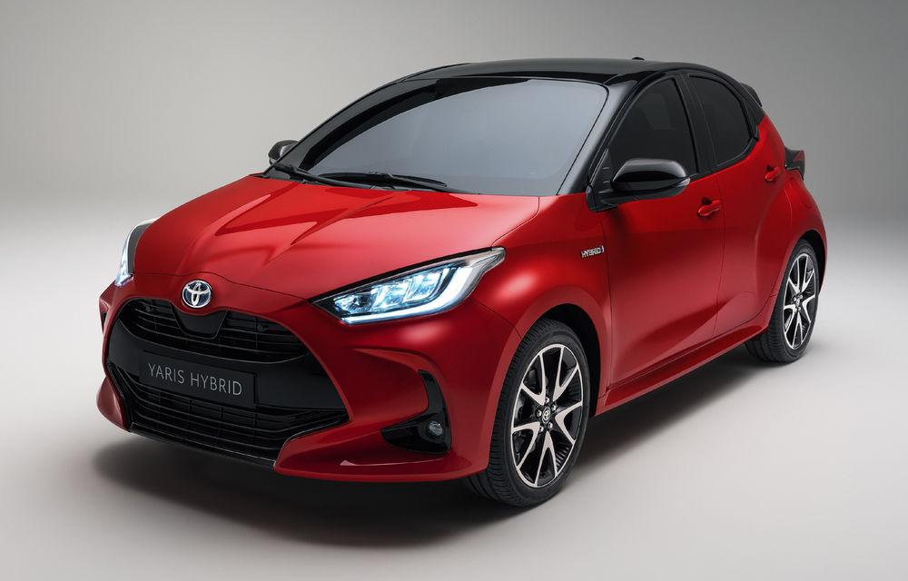 Toyota prezintă noua generație Yaris: design modern, dimensiuni mai mici, platformă nouă și sistem hibrid de 1.5 litri - Poza 1