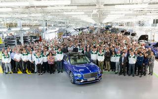 Bentley a început producția noului Flying Spur: primele livrări către clienți, în 2020
