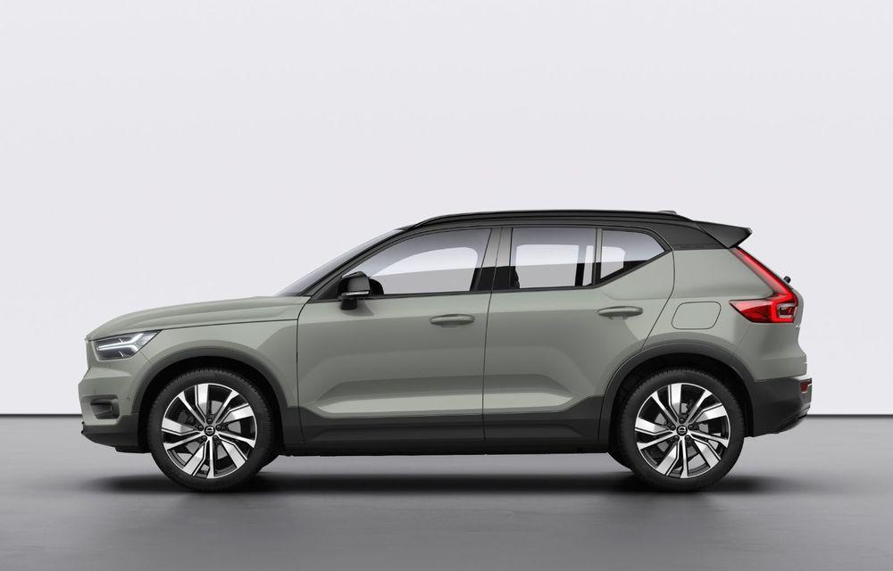 Volvo XC40 Recharge: primul model 100% electric Volvo anunță o autonomie de 400 de kilometri - Poza 4