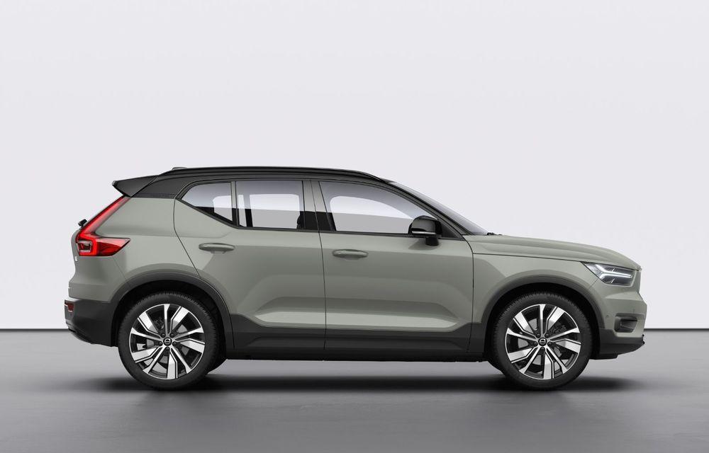 Volvo XC40 Recharge: primul model 100% electric Volvo anunță o autonomie de 400 de kilometri - Poza 3