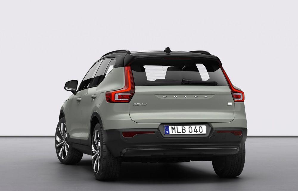 Volvo XC40 Recharge: primul model 100% electric Volvo anunță o autonomie de 400 de kilometri - Poza 8