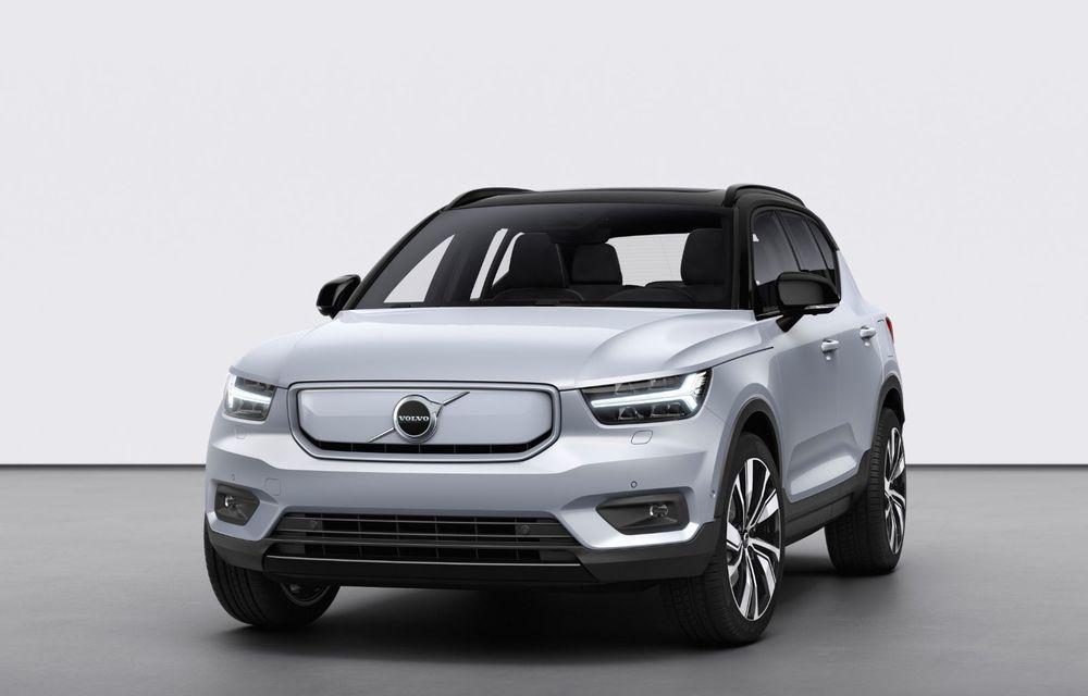 Volvo XC40 Recharge: primul model 100% electric Volvo anunță o autonomie de 400 de kilometri - Poza 11
