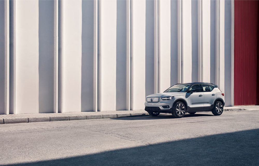 Volvo XC40 Recharge: primul model 100% electric Volvo anunță o autonomie de 400 de kilometri - Poza 15