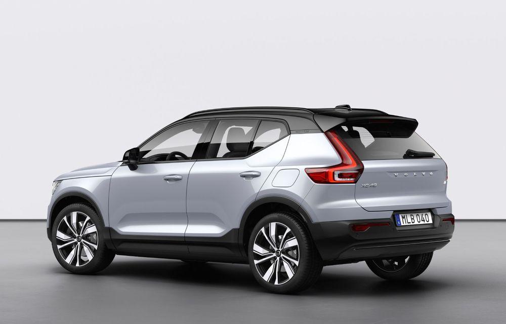 Volvo XC40 Recharge: primul model 100% electric Volvo anunță o autonomie de 400 de kilometri - Poza 12