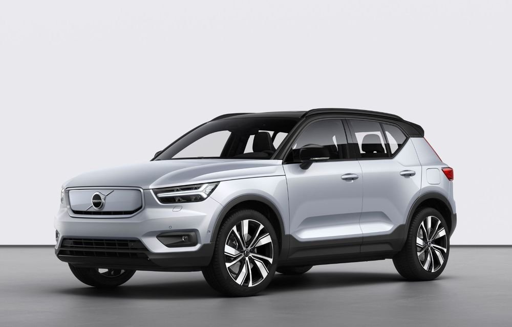 Volvo XC40 Recharge: primul model 100% electric Volvo anunță o autonomie de 400 de kilometri - Poza 6