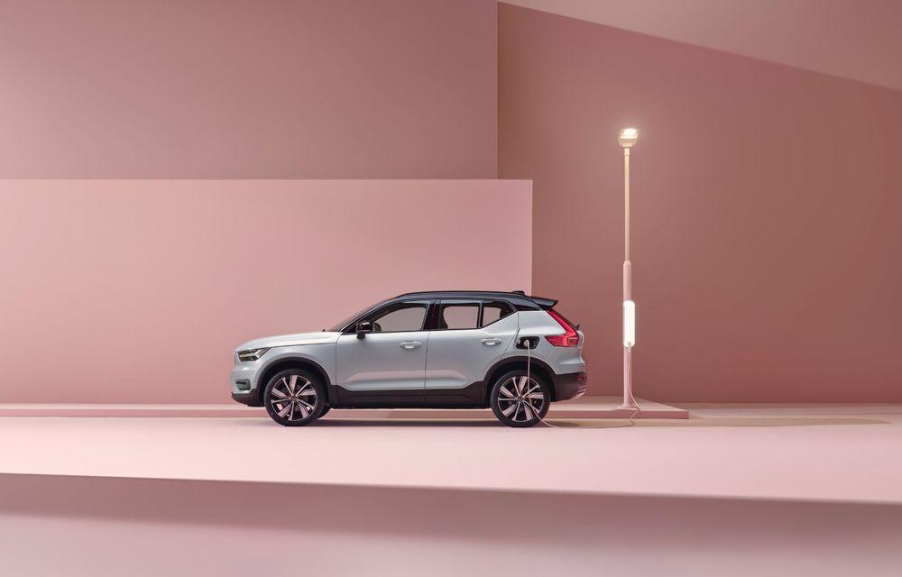 Volvo XC40 Recharge: primul model 100% electric Volvo anunță o autonomie de 400 de kilometri - Poza 21