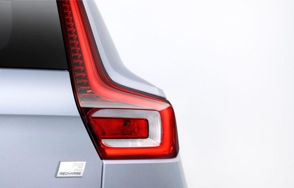 Volvo XC40 Recharge: primul model 100% electric Volvo anunță o autonomie de 400 de kilometri - Poza 17