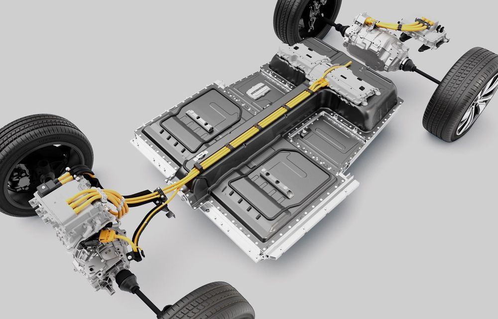 Volvo XC40 Recharge: primul model 100% electric Volvo anunță o autonomie de 400 de kilometri - Poza 31