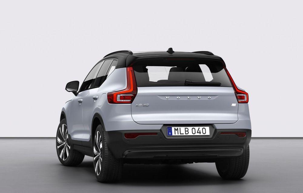 Volvo XC40 Recharge: primul model 100% electric Volvo anunță o autonomie de 400 de kilometri - Poza 13